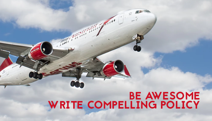 Write awesome aviation safety policy statements
